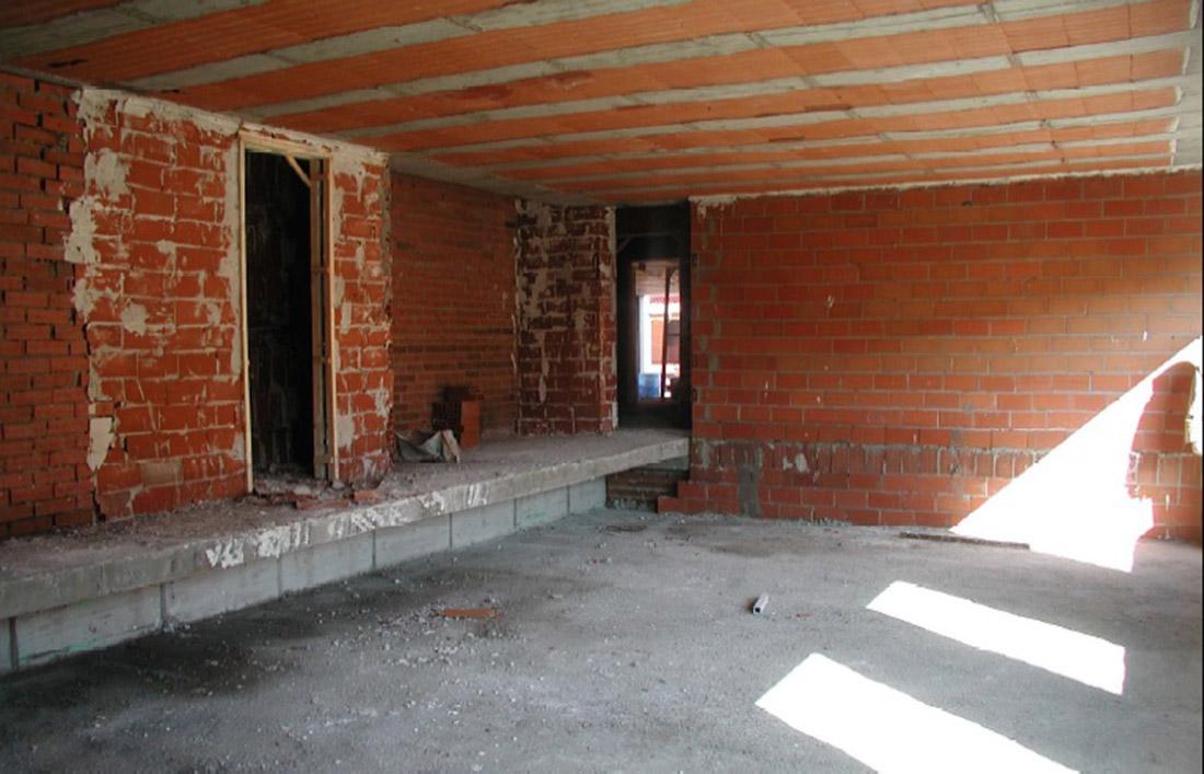 construir nuestra casa, obra