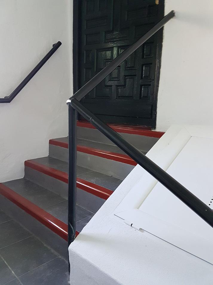Rehabilitación escalera