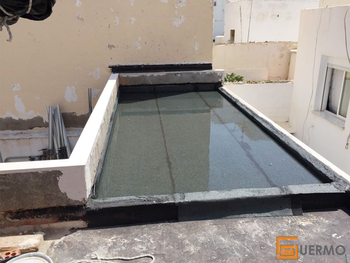 Estanqueidad cubierta vivienda Almería
