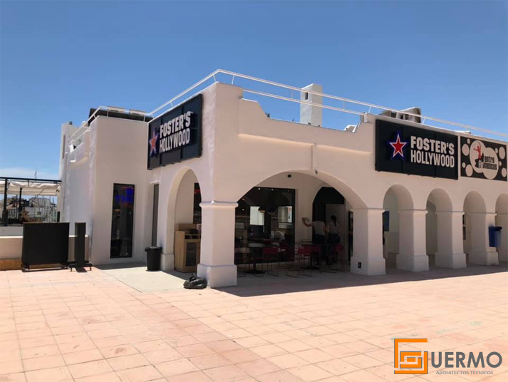 Restaurante Fosters Hollywood Aguadulce
