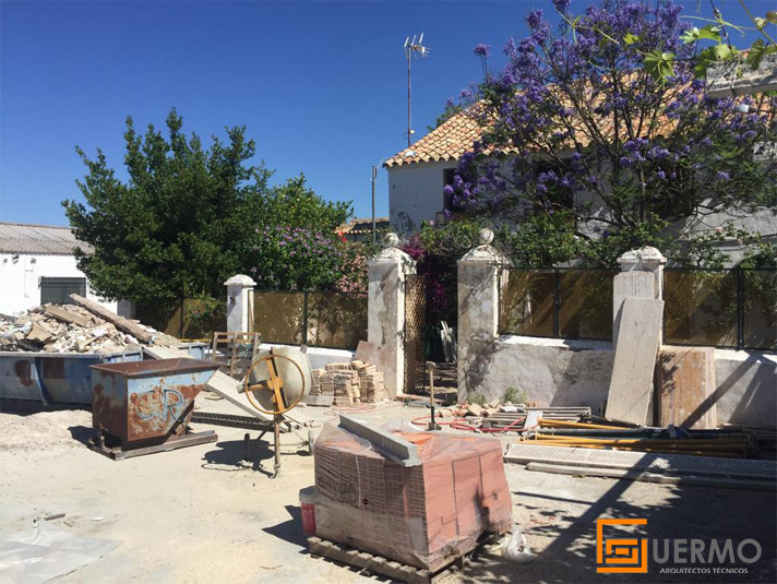 Rehabilitación parcial finca Córdoba